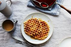 I can't wait to try this...Hannah Kirshner's Best Ever (Vegan) Waffles recipe on Food52