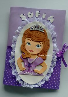 Capa decorada princesa Sofia