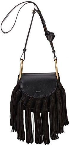 Chloe Fringed Leather Bag 2016 #chloe