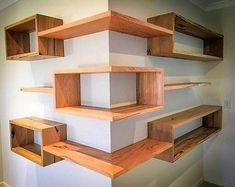 Now craft this wonderful-looking wooden shelve for your home. This wooden structure not only seems appealing in the picture given below but also have an attractive wooden texture. This corner shelve design is best for decoration and very useful for placing your gorgeous decoration pieces on it.