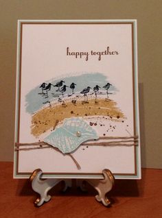 Work of Art, Wetlands, Gorgeous Grunge, By the Tide, and A Dozen Thoughts by Stampin Up!