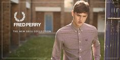 http://www.apacheonline.co.uk We have had our latest deliveries of the Fred Perry Spring Summer 2015 range and here are a few picks for you. Featuring bold paisley patterns, classic cotton shirts and new colours in the classic M1200 Tipping polo, there is something for everyones Spring Summer wardrobe.