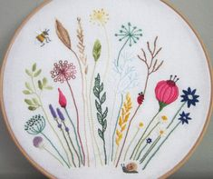 Meadow #embroidery FB