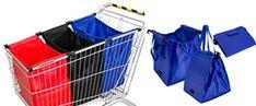Que practicas y de buen tamaño son nuestras bolsas ecológicas de supermercado Organization, Shopping, Projects, Grocery Bags, Reusable Bags, Santiago, Fabric Purses, Organizers, Sacks