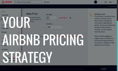 Understanding Airbnb pricing and two tips to skyrocket your Airbnb pricing strategy for all of your short-term rental property listings. Air Bnb Tips, Airbnb Rentals, Vacation Rentals, Airbnb House, Phoenix Homes, How To Get Better, Air B And B, Investment Property, Business Planning