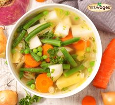 Spring is in full swing! What better way to welcome it than with this hearty harvest soup? http://upo.st/3dhzjs