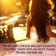 you're God's princess