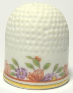 Meissen Thimble Handpainted Floral Limited Edition | eBay /  Mar 16, 2014 / US $160.00