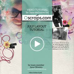 Digital scrapbooking tutorial video tutorial how to create digital scrapbooking in photoshop and photoshop elements to create artsy blended layouts
