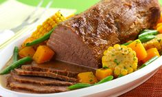Receita de Carne de panela à brasileira - Carne - Dificuldade: Fácil - Calorias: 300 por porção