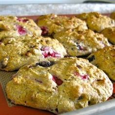 This is the recipe for my favorite breakfast scones – raspberry with bittersweet chocolate. Gluten-free, of course, and serve with a steamy hot chocolate.