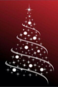 Merry Christmas Christmas Svg, Christmas Printables, Christmas Stencils, White Christmas, Christmas Tree Poster, Christmas Tree Graphic, Christmas Holidays, Christmas Decorations, Christmas Ornaments