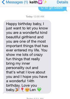 Best happy birthday text to girlfriend