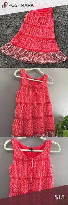 I just added this listing on Poshmark: As U Wish Red Floral Sleeveless Mini Dress. #shopmycloset #poshmark #fashion #shopping #style #forsale #As U Wish #Dresses & Skirts