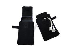 porta celular com bolsinho para fone de ouvido