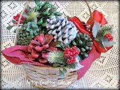 DIY Pine Cone : DIY  Pinecone Firestarter Gift Basket