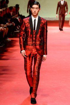 Matador* - Dolce  Gabanna   Spring 2015 Menswear Collection   Style.com