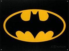 Batman Logo Tin Sign 16x12  $11.99  $14.99  (30 Available) End Date: Apr 272016 07:59 AM GMT-07:00