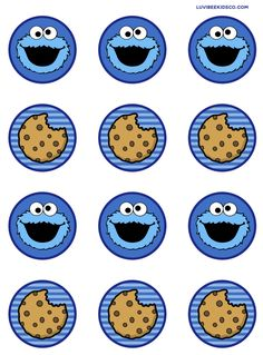 Trendy cookies monster wallpaper sesame streets ideas Many women prefer to visit the hairdresser even if they don't have time … Monster 1st Birthdays, Monster Birthday Parties, Elmo Party, Elmo Birthday, Birthday Cookies, Little Monster Party, Cookie Monster Party, Sesame Street Party, Sesame Street Birthday