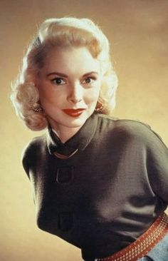 Picture of Janet Leigh Girls Sweaters, Vintage Sweaters, Vintage Hollywood, Hollywood Glamour, Margaret Bourke White, Janet Leigh, Star Wars, Bullet Bra, Tony Curtis