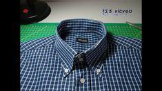 Come recuperare una camicia con un collo consumato