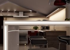 The Versa ChannelLine B LED linear light by Magic Lighting available from Hettich New Zealand. Linear Lighting, Lighting Design, Led Light Design, Aesthetic Value, Design Ideas, Magic, Furniture, Home Decor, Light Design