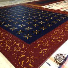 L- Shaped Floorcloth