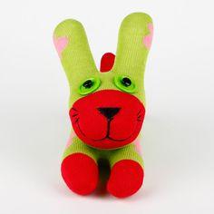 Free Shipping Handmade Sock Rabbit/bunny Stuffed Animal Doll