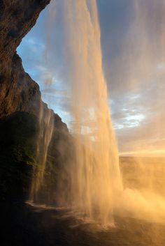 definitelydope:    Seljalandsfoss (vertical) (by claustral)