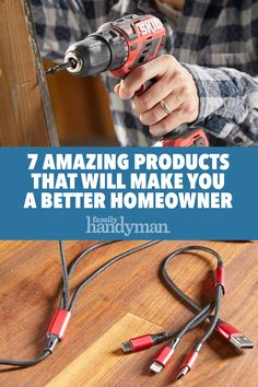 7 Amazing Products That Will Make You A Better Homeowner Diy Projects Tools, Stud Finder, Yard Tools, Plumbing Tools, Plumbing Problems, Sanding Block, How To Remove Rust, Woodworking Store, Stainless Steel Sinks