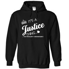 It's A Justice Thing T-Shirts, Hoodies. VIEW DETAIL ==► https://www.sunfrog.com/Names/Its-A-Justice-Thing-vwrvb-Black-4521133-Hoodie.html?id=41382