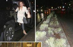 Xe chở Angelina Jolie bị tai nạn