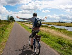 Photo about Man having fun on a bike and riding without hands on a cycle path by a river in the English countryside. Image of bike, carefree, blurred - 17975436 Cape Cod Bay, Harbor View, English Countryside, Nantucket, Have Fun, Bicycle, Cottage, Stock Photos, Park