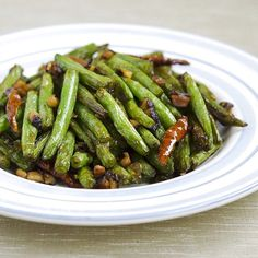 Dry Fried Green Beans With Garlic Sauce | Food Recipes