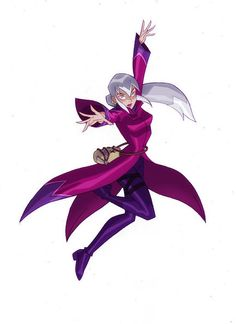 Charmcaster Voiced by: Eri Kitamura (Japanese), Kari Wahlgren (English)  the main antagonist of Phoenix Hearts II: Daughters of Harmonia.  She is the sister of Furiae and the daughter of Zedonius.
