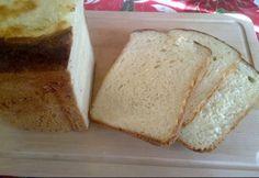Fehér krumplis kenyér kenyérsütőben sütve Banana Bread, Desserts, Food, Postres, Deserts, Hoods, Meals, Dessert, Food Deserts