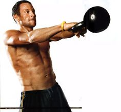 Kettlebell training burns 20.2 calories per minute — that's on par with a 6 minute mile. GET IT IN.