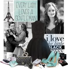"""""""Gossip Girl"""" by alicelavender ❤ liked on Polyvore"""