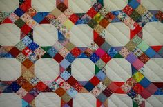 """""""Marie's Quilts: Nine Patch -- on Point"""""""
