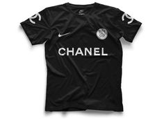 #Nike Paris Saint-Germain Concept Kits by Federico Maccapani | #PSG x #Chanel