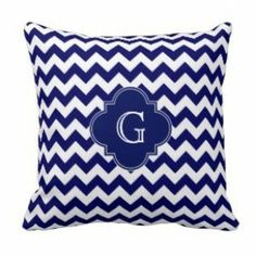 Blue on Blue Chevron Monogram Print Pillows Chevron Monogram, Blue Chevron, Chevron Throw Pillows, Accent Decor, Tapestry, Hanging Tapestry, Chevron Pillow, Tapestries, Wall Rugs