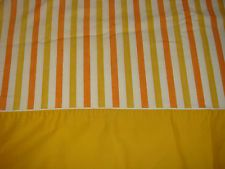 striped sheets from the 70's - They also had floral prints!
