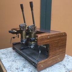 Conti-Monaco-2-group-lever-commercial-espresso-machine-220v-custom-refurbished