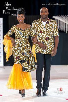 Afro Wedding Party: nos 20 robes de mariage préférées - Biloa Magazine