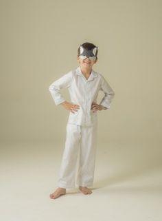 Light grey stripes boy's pyjama. Cotton 100%. #pyjama #pijama #boy #sleepwear #kidsfashion #pyjama #modeenfant #modainfantil