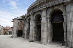 Film and Photo Shoot Renaissance City Backlot: Colosseum Arena, Arcade