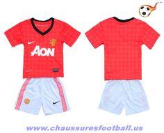 Manchester United Maillot Domicile enfant 2012-2013 FT2444
