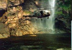 Rhodesian helicopter. Alouette III, great machine.