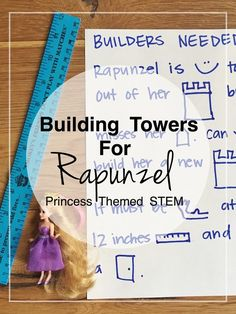 Building Towers for Rapunzel | Princess themed STEM | Bambini Travel