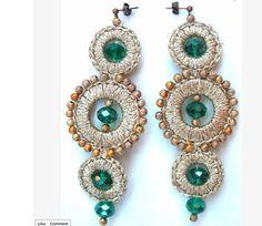 FIBRAE, bijoux sartoriali, Italy - lace jewels